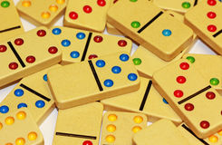 Colorful Domino Stock Images