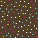 Colorful Donut Glaze Seamless Pattern Royalty Free Stock Image