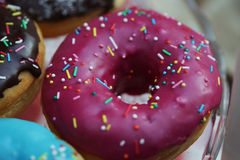 Colorful donuts Stock Image