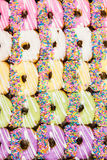 Colorful donuts. Royalty Free Stock Photos