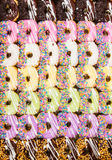 Colorful donuts. Stock Image