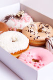 Colorful donuts Royalty Free Stock Image