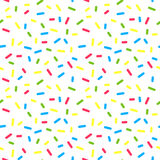 Colorful Donuts Glaze Seamless Pattern with Royalty Free Stock Photo