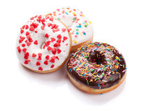 Colorful donuts Royalty Free Stock Photos