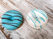 Colorful donuts Royalty Free Stock Photo