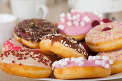 Colorful donuts Stock Photography