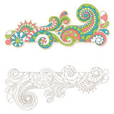 Colorful doodle Royalty Free Stock Images