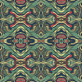 Colorful doodle abstract seamless pattern. Royalty Free Stock Photo