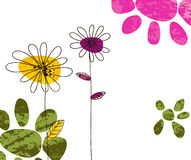 Colorful doodles background Royalty Free Stock Photos