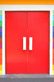 Colorful door Stock Images