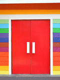 Colorful door Stock Image