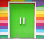 Colorful door Royalty Free Stock Photography