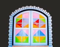 Colorful door Stock Photos