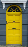 Colorful door in Dublin, Ireland Royalty Free Stock Images