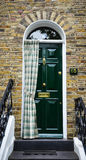Colorful door in Hampsetad Stock Photography