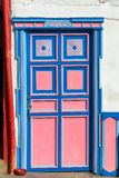 Colorful Door in Salento Stock Photography