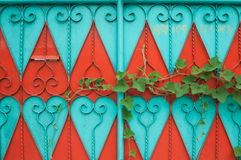 Colorful door Royalty Free Stock Photos