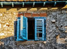 Doors of Turkey homes. Colorful doors of Turkey are unique and fascinating Royalty Free Stock Images