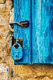 Doors of Turkey homes. Colorful doors of Turkey are unique and fascinating Royalty Free Stock Photos