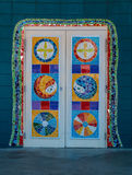 Colorful Doors Royalty Free Stock Images