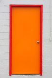 Colorful Doorway. An colorful and inviting doorway Stock Photography