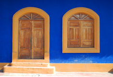 Colorful Doorway Royalty Free Stock Photos