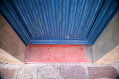 Colorful doorway in Mexico Royalty Free Stock Photos