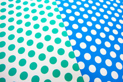 Colorful dot craft paper Royalty Free Stock Photo