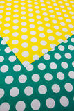 Colorful dot craft paper Stock Image