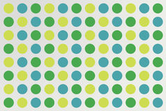 Colorful dot pattern on gray gradient. Background Royalty Free Stock Photos
