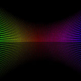 Colorful doted background Royalty Free Stock Image