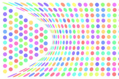 Colorful dots abstract background Stock Image