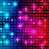 Colorful Dots Abstract Vector Background Royalty Free Stock Images