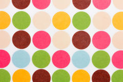 Colorful dots background Royalty Free Stock Photos