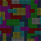Colorful dots background. Royalty Free Stock Images