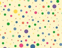 Colorful dots background texture pattern. Design Stock Photos