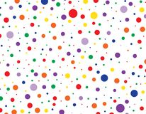Colorful dots background texture pattern. Design Stock Image