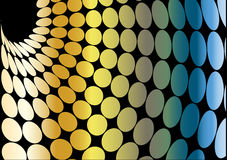 Colorful dots background vector Stock Photos