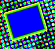 Colorful Dots With Copyspace Stock Photo