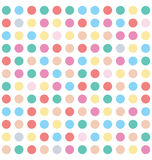 Colorful Dots Seamless abstract Pattern Royalty Free Stock Image