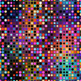 Colorful dots seamless pattern. Design royalty free illustration