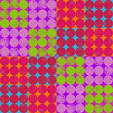 Colorful Dots Seamless Repeating Pattern royalty free stock photos