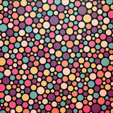 Colorful dotted abstract background Royalty Free Stock Images