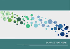 Colorful dotted background Royalty Free Stock Images