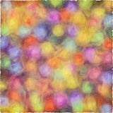 Colorful dotted background. Oil painted colorful textured background Royalty Free Stock Photos