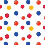 Colorful dotted background Royalty Free Stock Photo