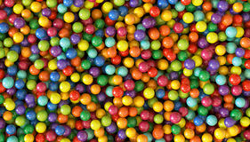 Colorful dragee balls background. Photo Pattern design for banner, poster, flyer, card, postcard, cover, brochure. Royalty Free Stock Photography