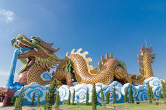 Colorful Dragon Stock Images