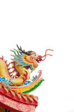 The colorful dragon made from ceramic tile Stock Photo