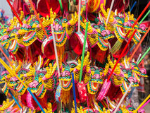 Colorful dragon toy for Chinese New Year Royalty Free Stock Photo